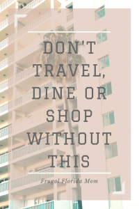 Don't travel, dine or shop without Dosh, the easiest rebate app you will ever use.