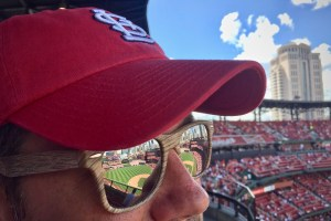 Reflection of ballpark in sunglasses - Take Me Out To The Ballgame... But Don't Take All My Money