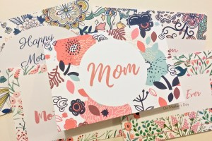 Mother's Day printable gift card - Mother's Day Gift Card Printable Bundle + $300 Target Giveaway