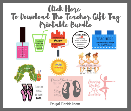 10+ End-Of-Year Teacher Gifts - Super Easy & Affordable Ideas & Printables