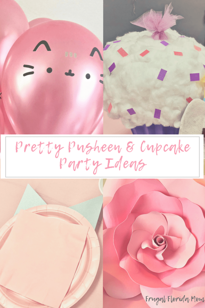 Pretty Pusheen & Cupcake Party Ideas