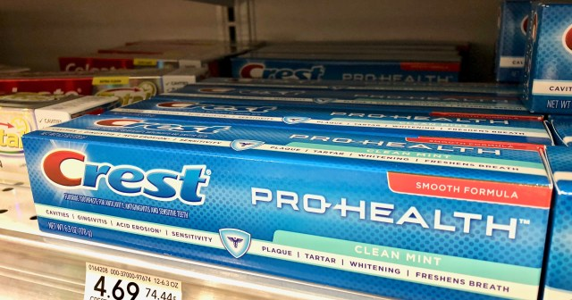 Crest toothpaste - Get Easy Cash Back On P&G Products At Publix