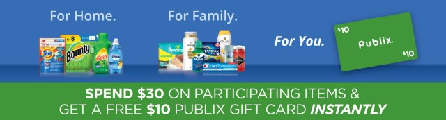 Get Easy Cash Back With Your Favorite P&G Products At Publix