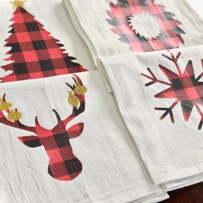 Tips For Using Patterned Heat Transfer Vinyl & Christmas Shape SVGs