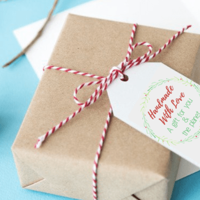 5 Ways To Give Eco-Friendly Gifts – With Printable Card & Gift Tags