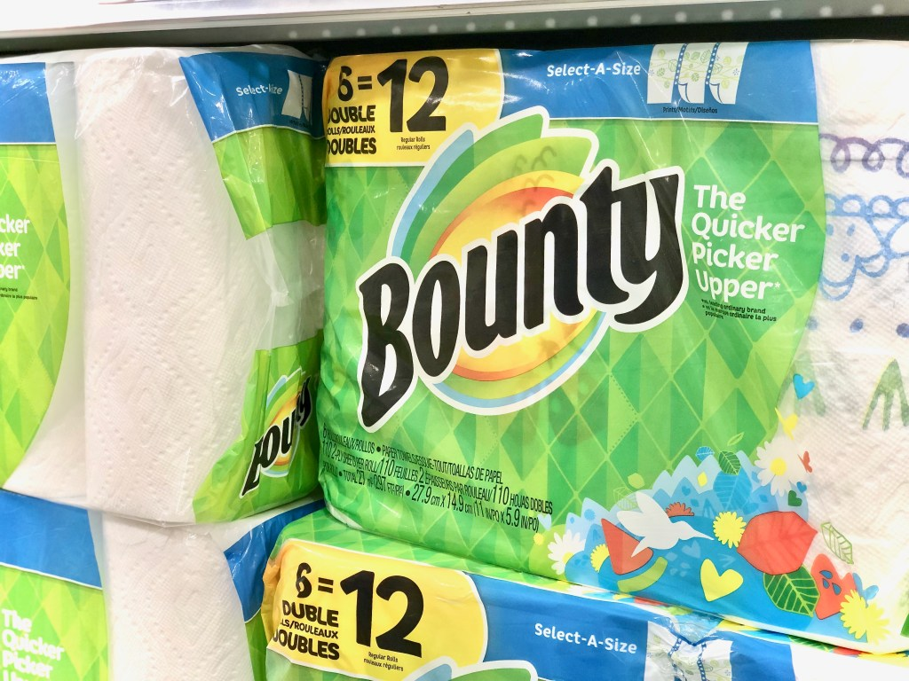 Bounty paper towels - Everyday Savings On P&G Products At Publix