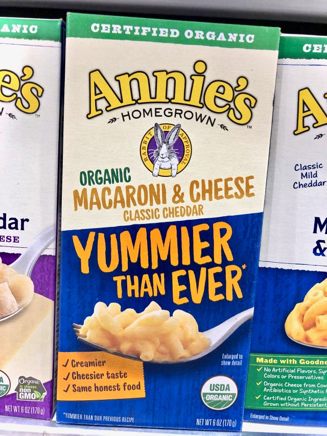 Annie's Organic Mac & Cheese - Honest To Goodness Essentials - Plant-Based And Nature Inspired Products On Sale At Publix