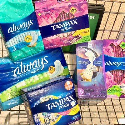 Tampax and Always feminine care products - Simplify Your Savings With P&G & Publix