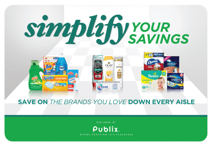 Simplify Your Savings With P&G & Publix