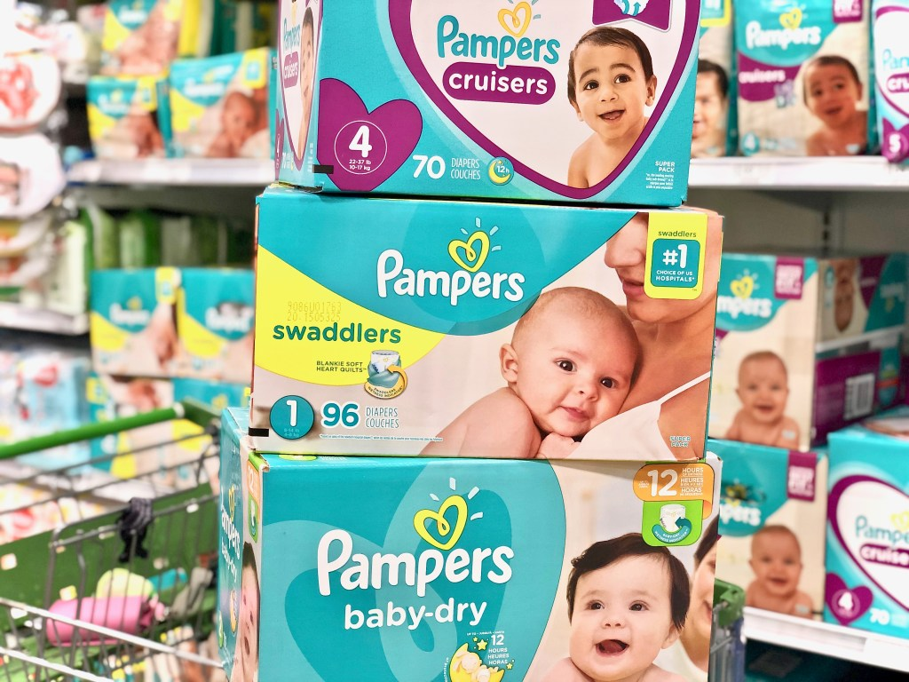 What I Miss About Having Babies + Discounts And Cash Back On Pampers Diapers At Publix