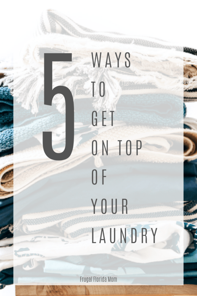 5 Ways To Get On Top Of Your Laundry With Customizable, Printable Schedule