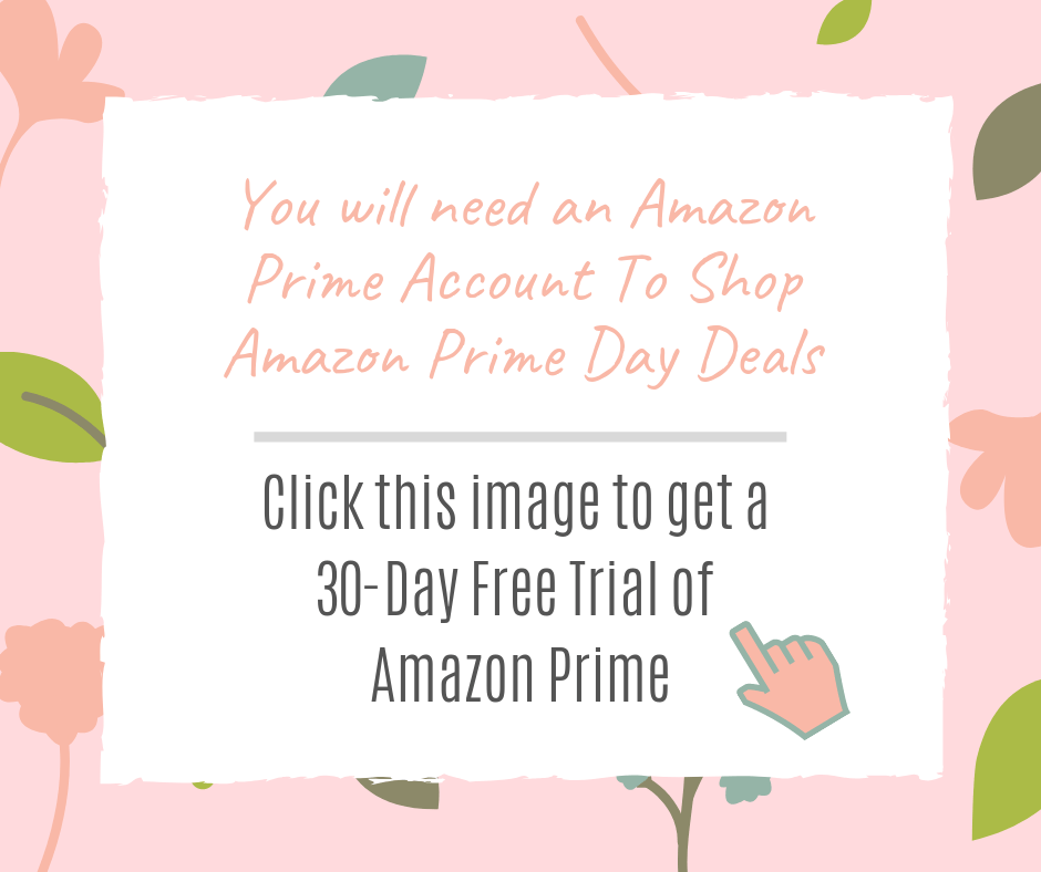 30-day free trial of Amazon Prime - Amazon Prime Day Deals On Cricut And Craft Supplies