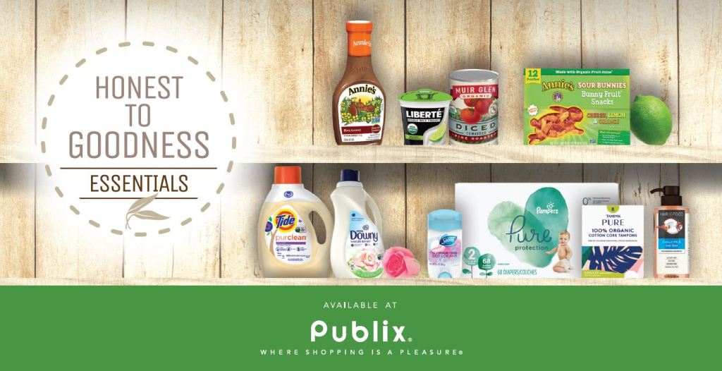 Publix Honest To Goodness Essentials - 6 Ways To Use More Organic, Plant-Based, Nature-Inspired Products