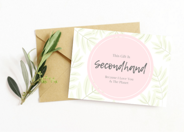 Finding and Gifting Secondhand Treasures With Printable Gift Tags