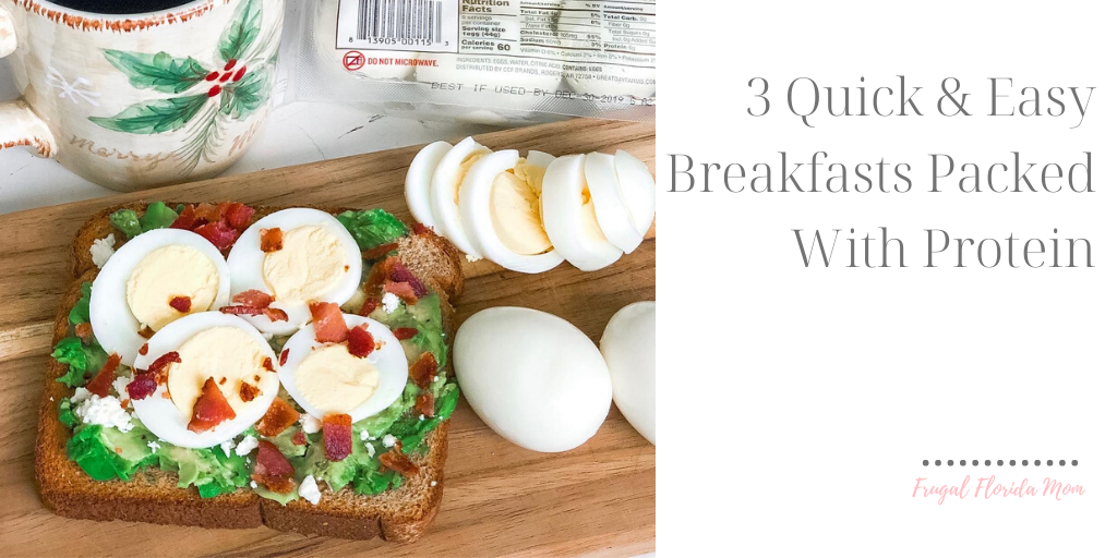 3 Quick And Easy Breakfasts Packed With Protein