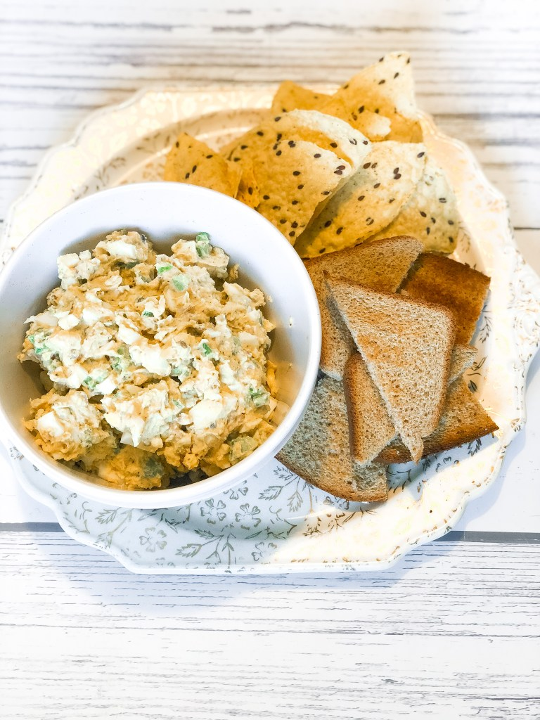 Healthier Egg Salad That Packs A Punch Of Flavor