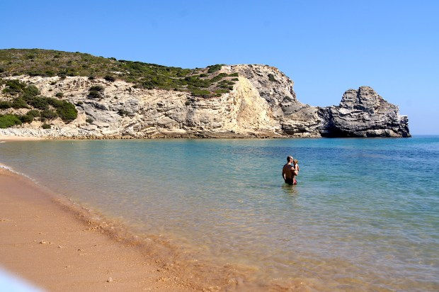 Praia do Borranco, Portugal
