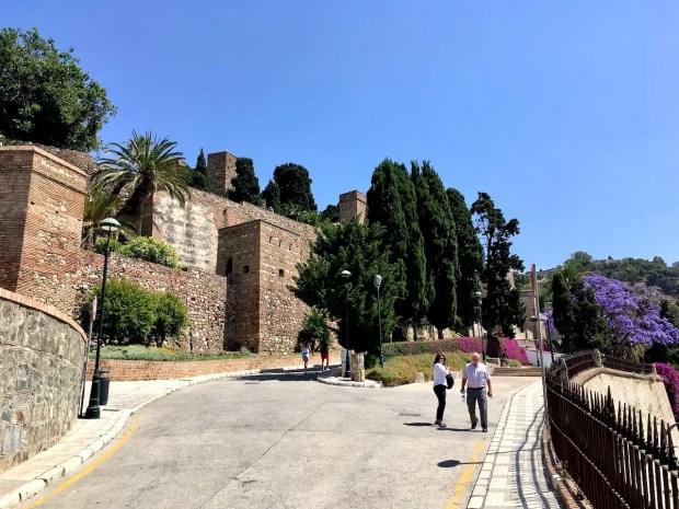 Hike to Castillo de Gibralfaro Malaga