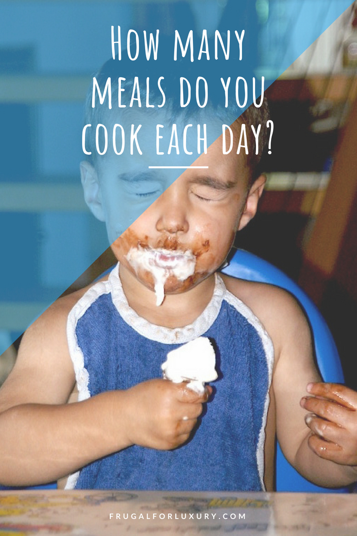 How many meals do you cook each day? Life with kids is hard enough, give yourself a break and have everyone eat the same meal at night!