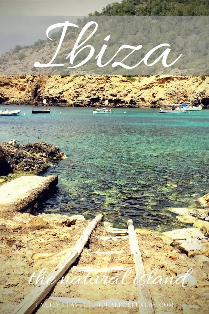 Ibiza, Spain. Our favorite beaches and the unexpected natural beauty of this island! #Ibiza #Spain #VisitIbiza #VisitSpain #NaturalIsland #MediterraneanCruise #PortOfCall