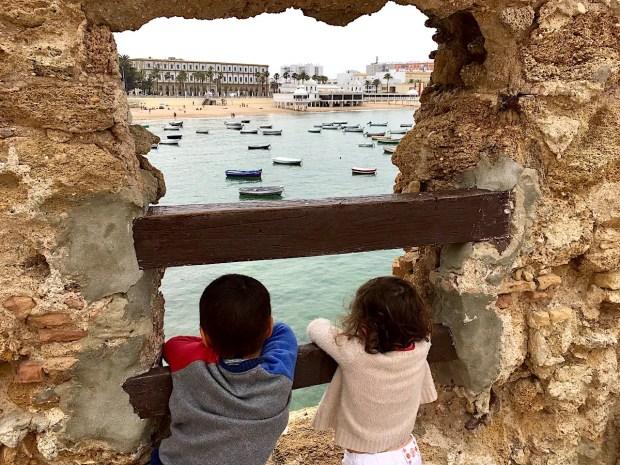 Kids in Cadiz