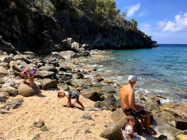 St. Barth Rock Beach 2
