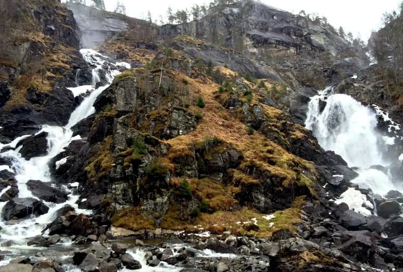 Double Waterfalls Norway