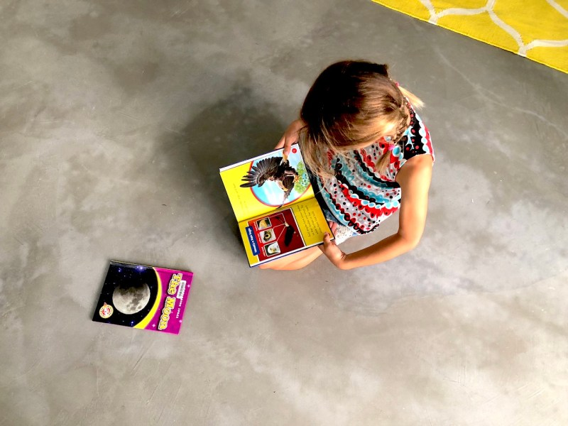 Teach your children to love to read. Raise them to become good readers.