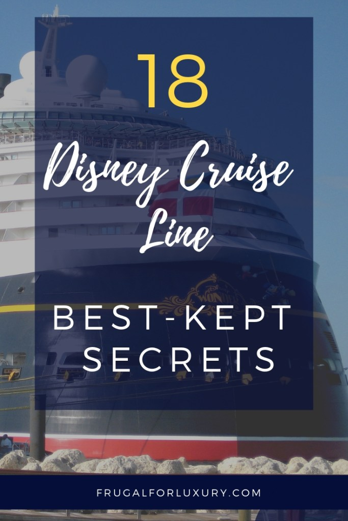 Disney Cruise Line's 18 Best Kept Secrets   Disney Cruises   What not to miss on DCL   Disney Ships   Disney Magic   Disney Wonder   Disney Dream   Disney Fantasy   #DCL #DisneyCruise #CruisingTips #Cruising #FamilyTravel #CruisingWithKids #FamilyCruise #DisneySecrets