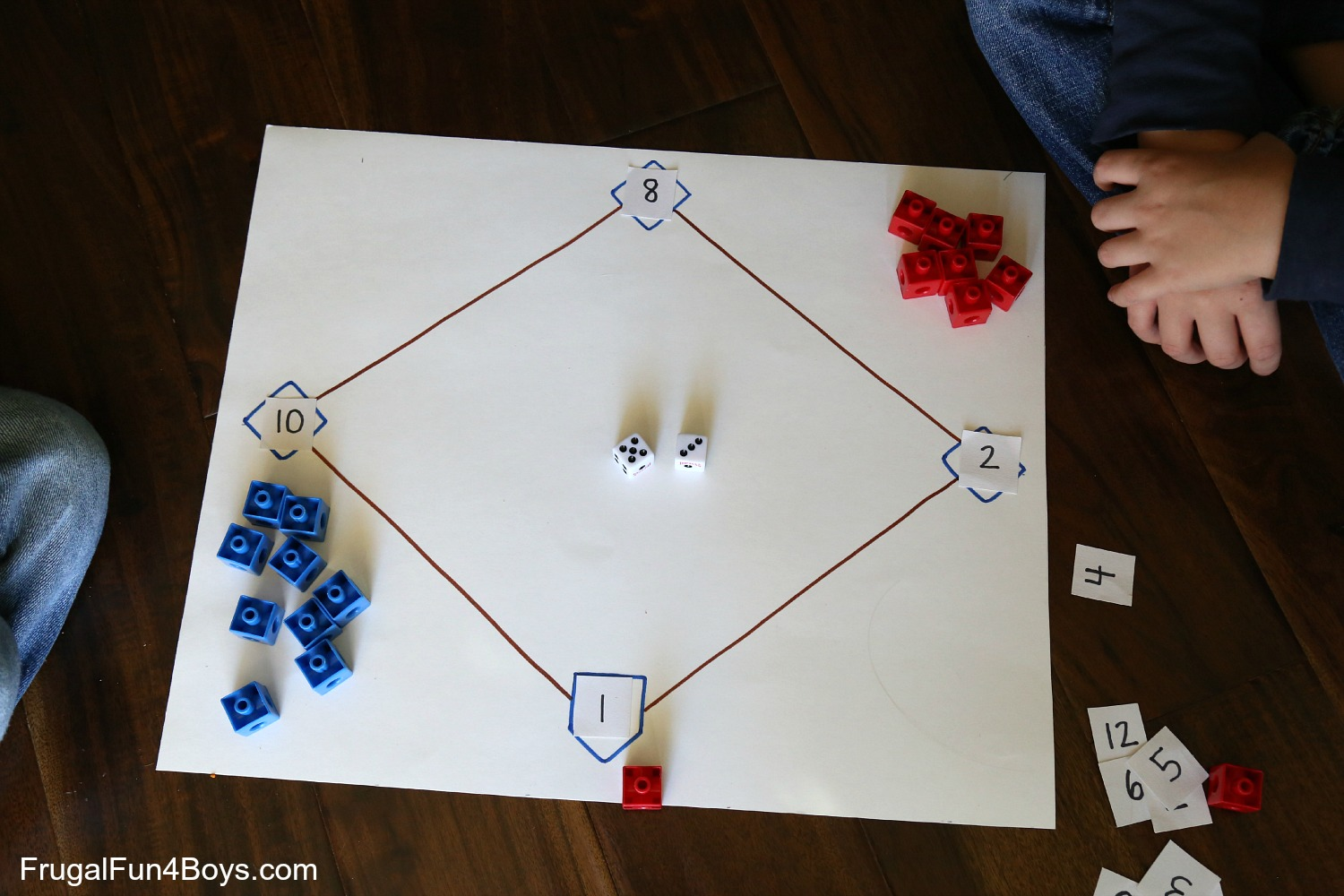 Math Facts Baseball An Awesome Way To Practice Math