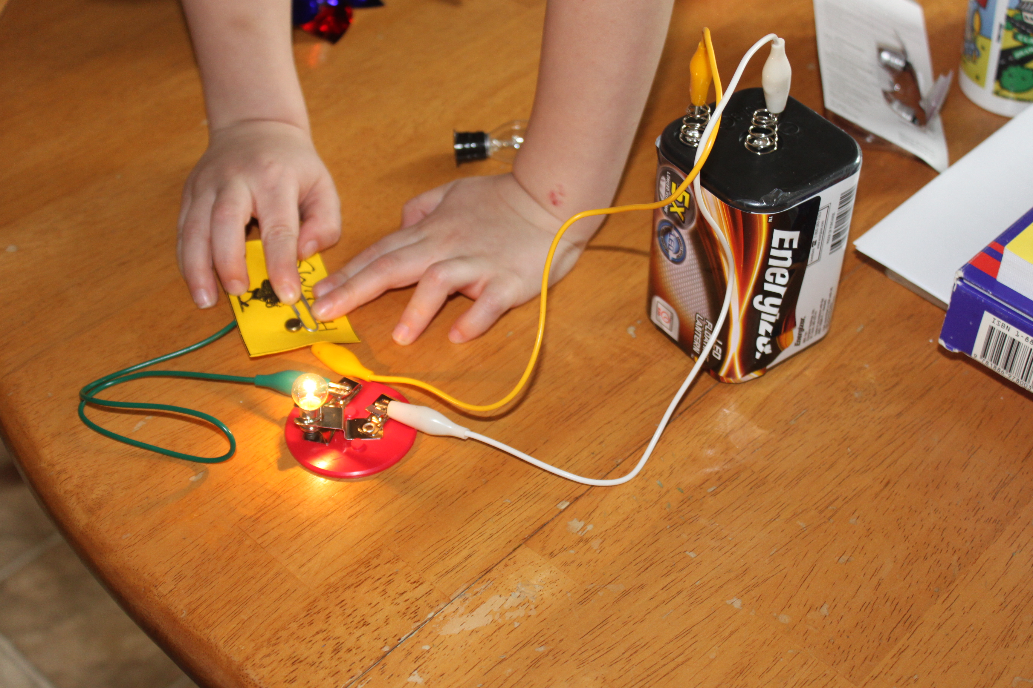 Homeschooling Notepages Electricity Week 1