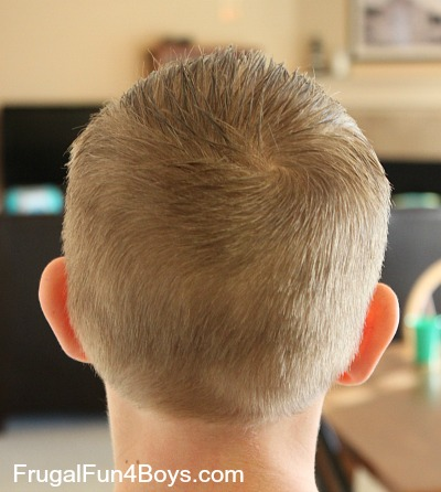 How To Do A Boys Haircut With Clippers