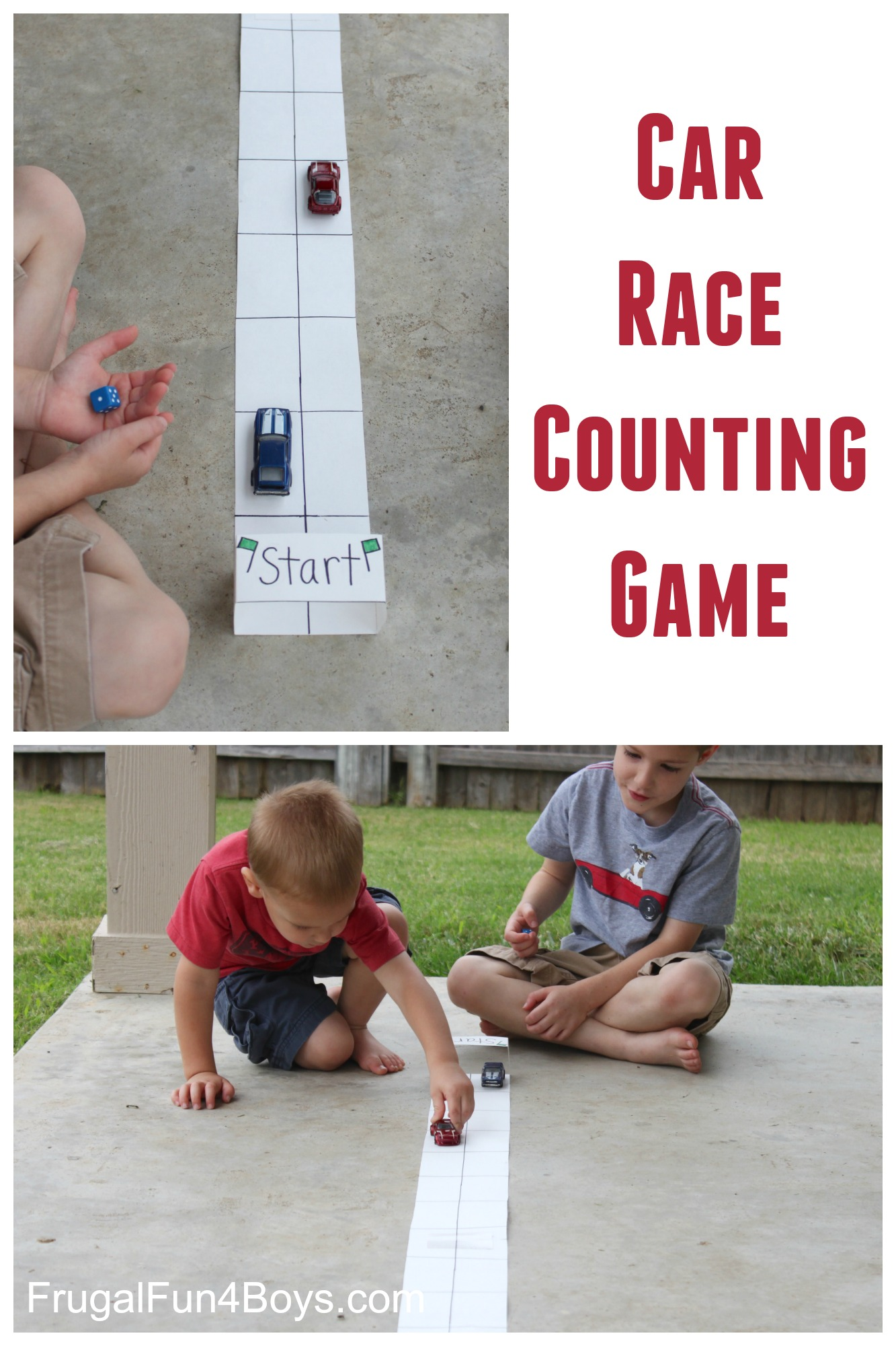 Car Race Counting Game