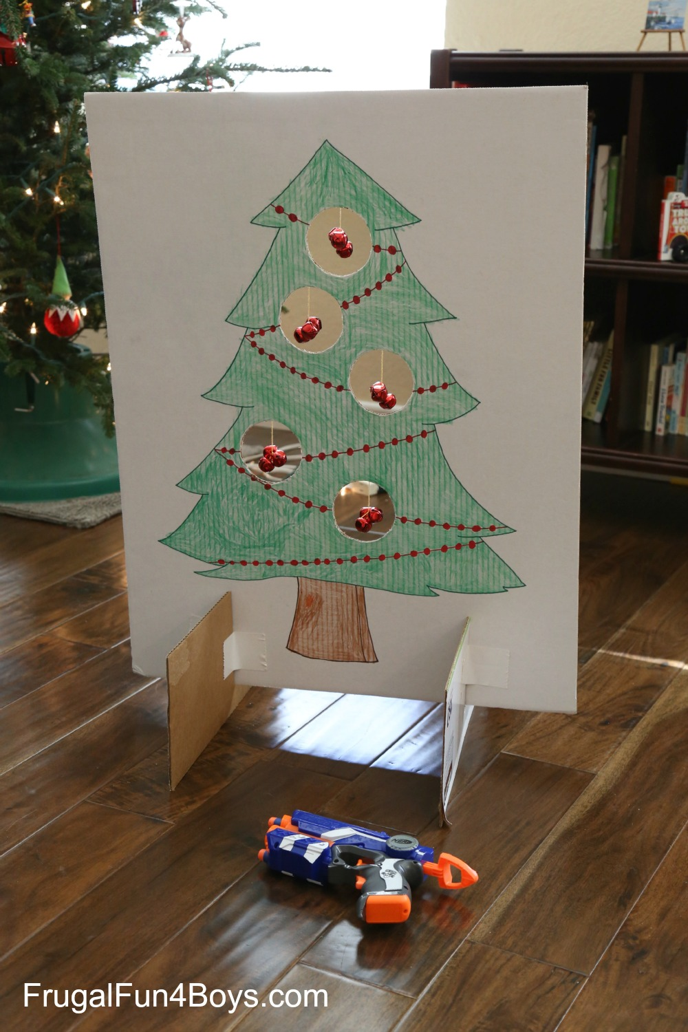 Jingle Bell Nerf Games