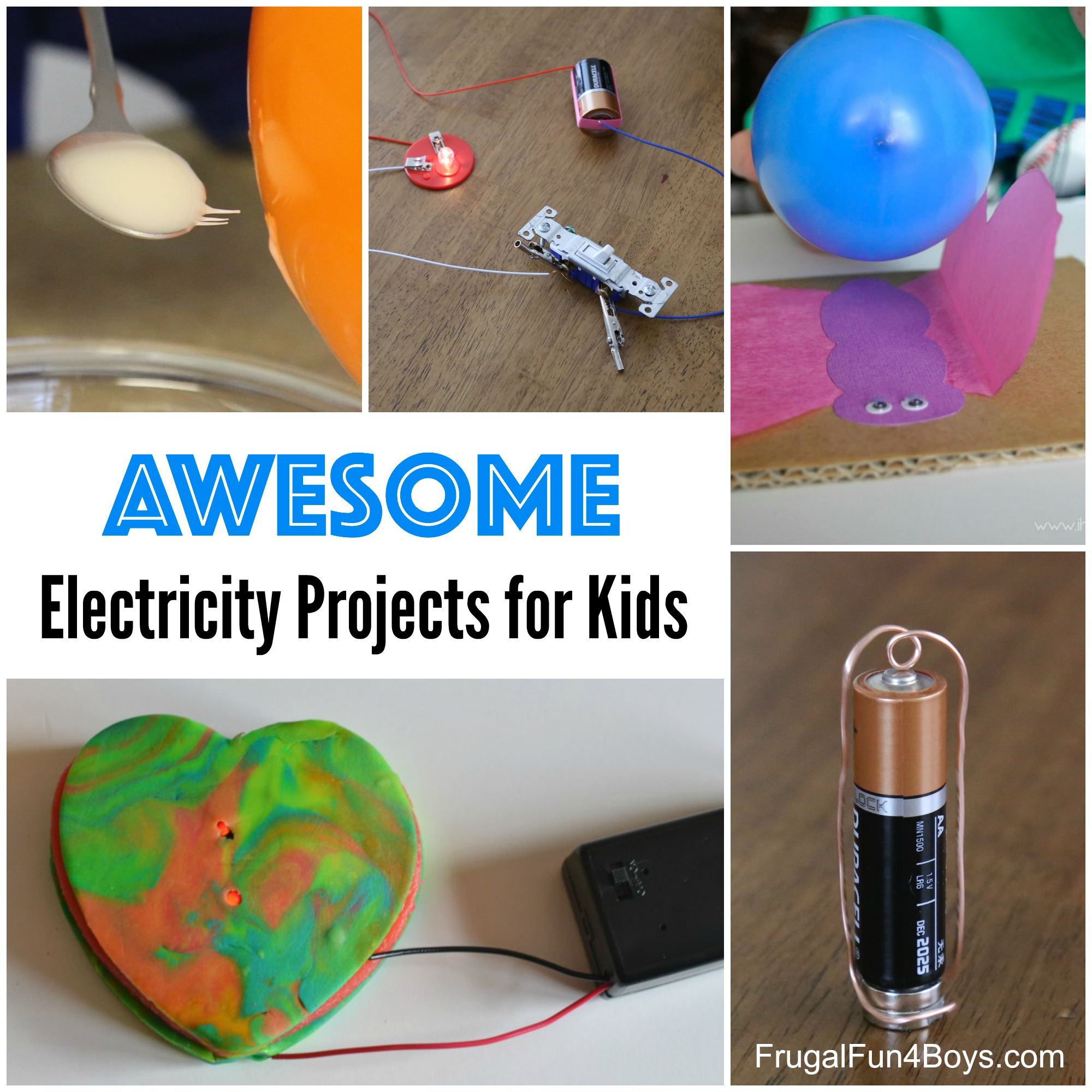 10 Awesome Electricity Projects For Kids