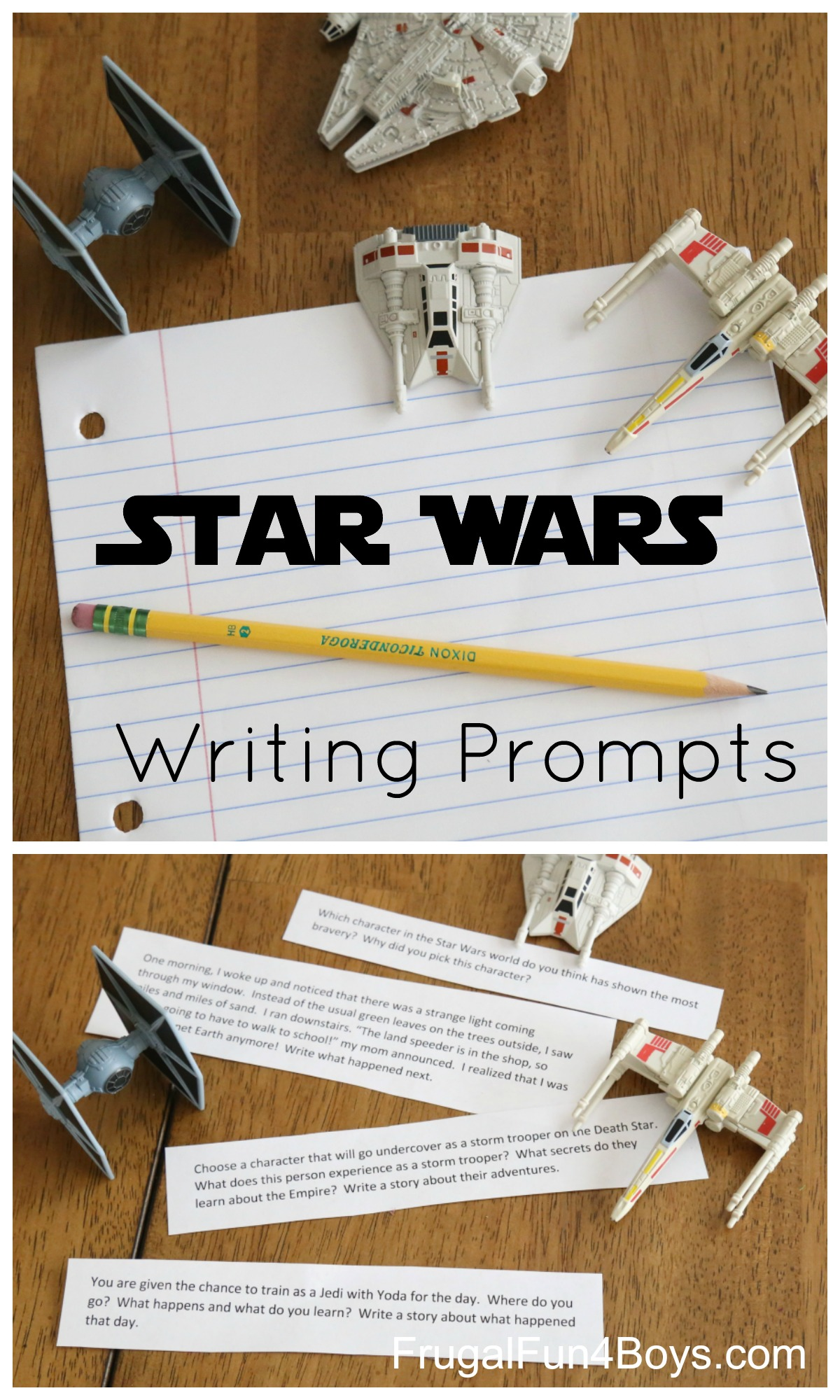 Printable Star Wars Writing Prompts