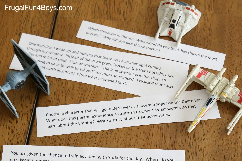 Printable Star Wars Writing Prompts