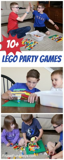 10  Totally Awesome LEGO Party Games