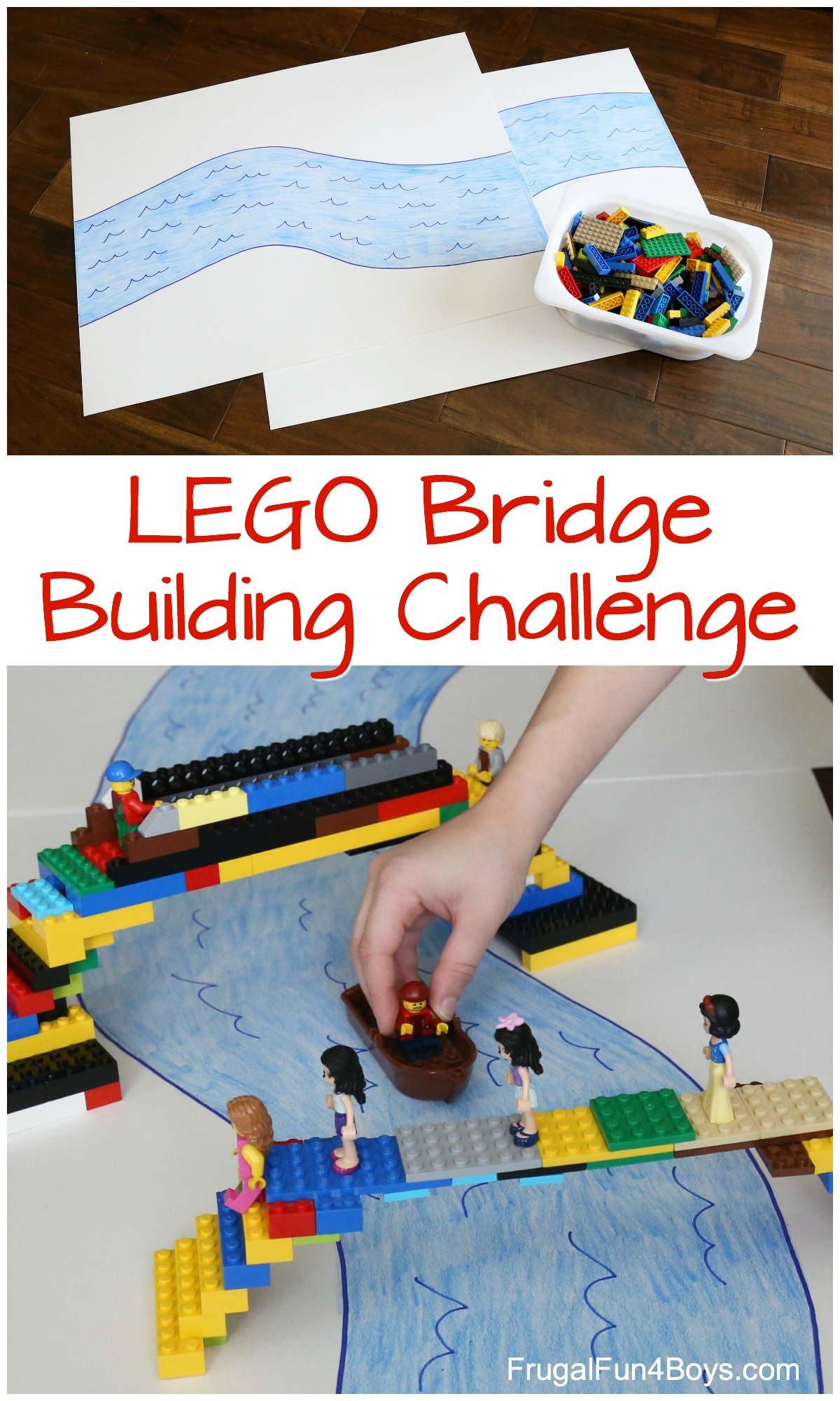 Do A Lego Bridge Building Challenge