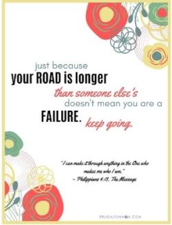 Keep Going Printable Quote | Frugal Fun Mom