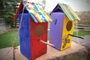 Homemade Birdhouses For Kids | Frugal Fun Mom