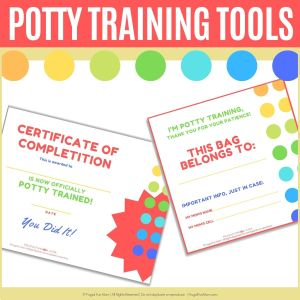 Potty Training Tools | Frugal Fun Mom
