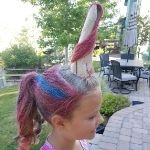 Unicorn Crazy Hair Day Idea