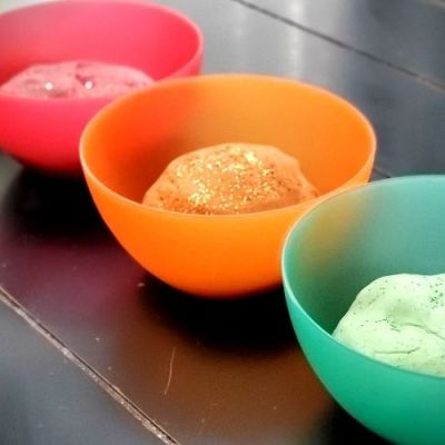 Fall Glitter Playdough - 4 Easy Recipes   Frugal Fun Mom