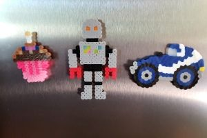 Perler Bead Magnets | Frugal Fun Mom