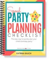 Speed Party Planning Checklist   Frugal Fun Mom