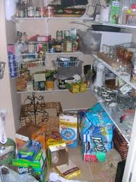 Not my pantry!