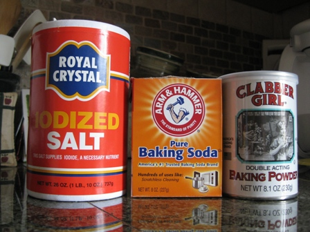 Store baking items together in a small box - when ready to bake you won't have to find items. Salt, vanilla, baking powder, soda, etc.