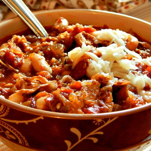 Chipotle Chicken Chili