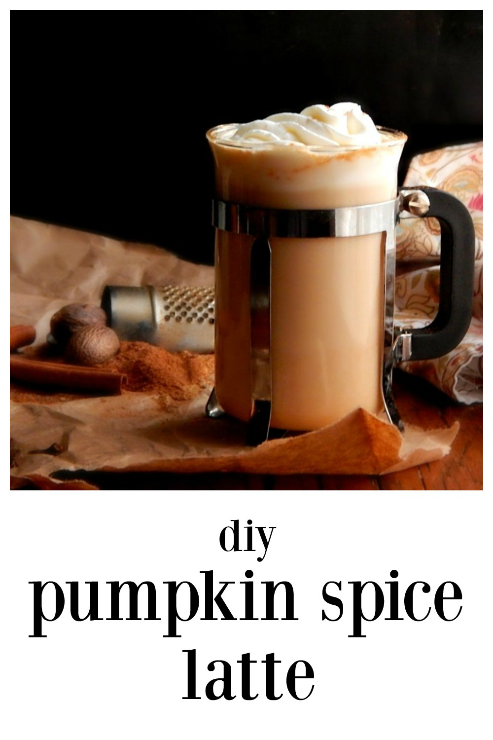 Homemade DIY Pumpkin Spice Lattes - easy, fast, delish, customizable and they'll save a boatload of money (and calories!) #PumpkinSpiceLatte #HomemadePumpkinSpiceLatte #DiyPumpkinSpiceLatte